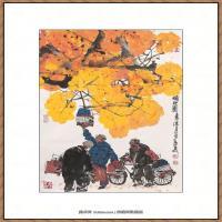 当代画家马海方绘画作品 (95)