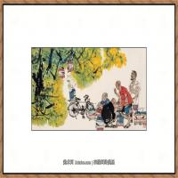 当代画家马海方绘画作品 (109)