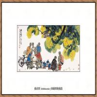当代画家马海方绘画作品 (82)
