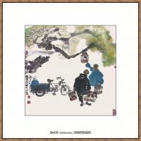 当代画家马海方绘画作品 (80)