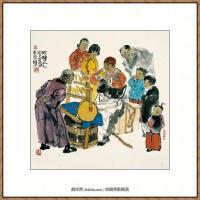 当代画家马海方绘画作品 (60)