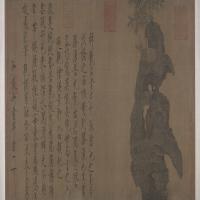 赵佶祥龙石图卷-北宋-花鸟