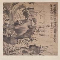 徐渭四季花卉图轴-明朝-花鸟