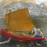 【超頂級】YHR131327001-奧迪龍雷東油畫作品高清圖片Odilon Redon (39)-150M-6501X8083