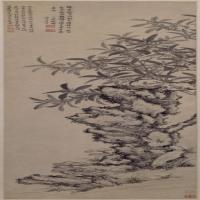 王�Y祥花卉图轴-明朝-山水