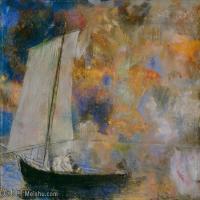 【超頂級】YHR131327002-奧迪龍雷東油畫作品高清圖片Odilon Redon (21)-134M-7521X6231