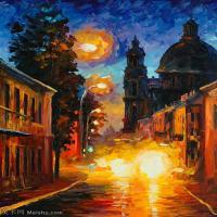 【欣赏级】YHR131309151-阿夫列莫夫Leonid Afremov油画作品图集-11M-1816X2296