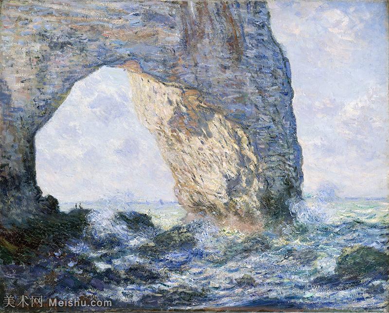【打印级】YHR190828424-克劳德莫奈Claude Monet法国印象派画家绘画作品集莫奈名画高清图片-40M-