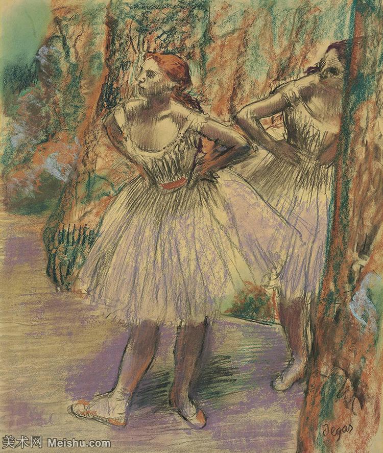 【打印级】YHR171516221-法国印象派画家埃德加德加Edgar Degas高清油画作品图片-24M-2707X3