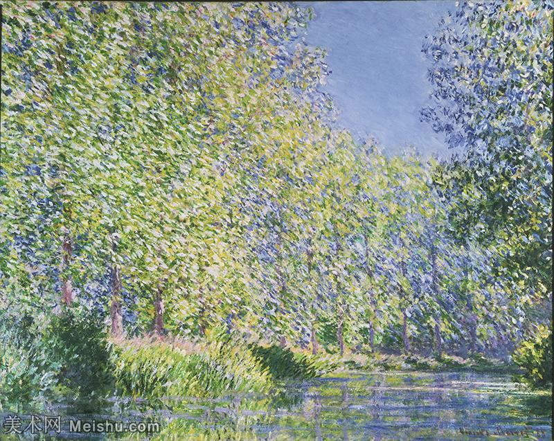 【印刷级】YHR19083220-克劳德莫奈Claude Monet法国印象派画家绘画作品集莫奈名画高清图片, Fren