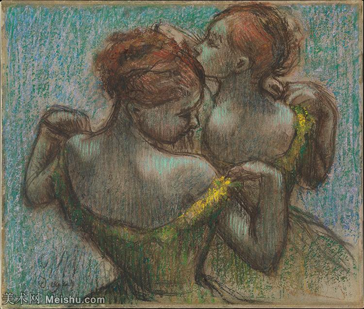 【打印级】YHR171516309-法国印象派画家埃德加德加Edgar Degas高清油画作品图片-36M-3901X3
