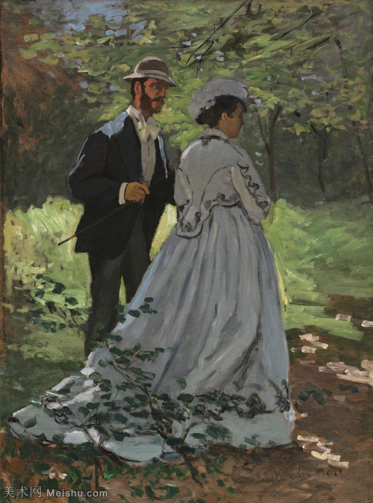 【欣赏级】YHR190828214-克劳德莫奈Claude Monet法国印象派画家绘画作品集莫奈名画高清图片-19M-