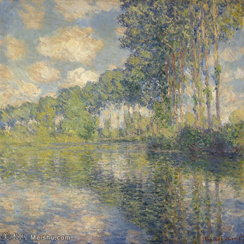 【印刷级】YHR190828442-克劳德莫奈Claude Monet法国印象派画家绘画作品集莫奈名画高清图片-45M-