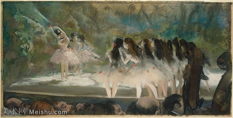 【印刷级】YHR171516331-法国印象派画家埃德加德加Edgar Degas高清油画作品图片-52M-6001X3