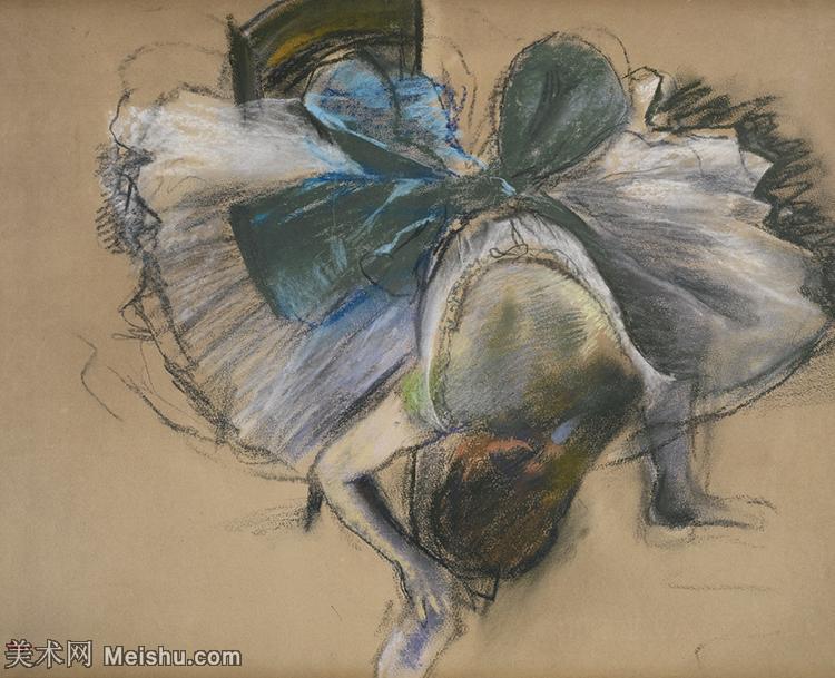 【欣赏级】YHR171516098-法国印象派画家埃德加德加Edgar Degas高清油画作品图片-9M-2000X16