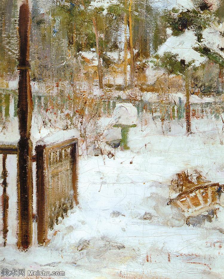 【欣赏级】YHR171336069-俄裔美籍画家尼古拉费欣Nicolai Ivanovich Fechin油画作品高清图