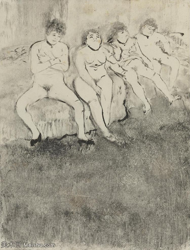 【欣赏级】SMR171516073-法国印象派画家埃德加德加Edgar Degas高清油画作品图片-8M-1522X19