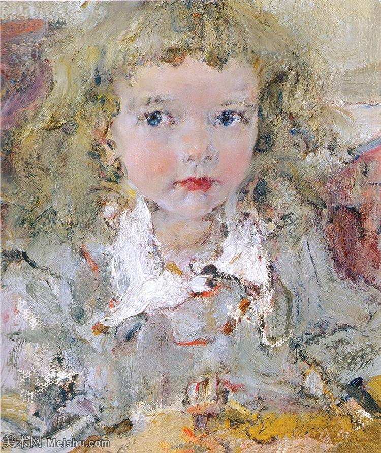 【欣赏级】YHR171336098-俄裔美籍画家尼古拉费欣Nicolai Ivanovich Fechin油画作品高清图
