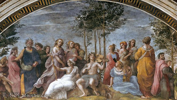 【打印级】YHR180934071-意大利杰出的画家拉斐尔Raphael神将治愈God has healed油画作品高清