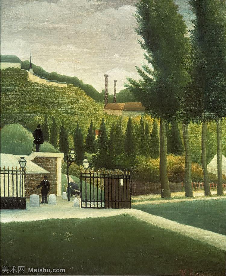 【欣赏级】YHR15114605-法国画家亨利卢梭Jacques Rousseau油画作品高清图片杰出的油画作品梦-14