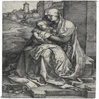 【打印级】SMR131409103-德国画家丢勒AlbrechtDurer素描手稿底稿作品高清图片国外绘画大师丢勒素描手稿底稿作品高清大图素描手稿底稿启示录受难图神话故事高清大图-8M-1421X20