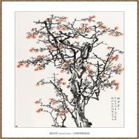 硕果累累243X190-海阳美协主席赵杰水墨作品