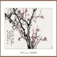 寒梅报春  68X136-海阳美协主席赵杰水墨作品