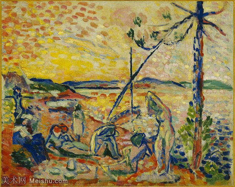 【印刷级】YHR19104216-亨利马蒂斯Henri Matisse法国著名野兽派画家绘画作品集油画作品高清大图-46