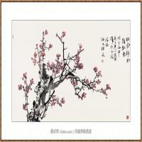 铁骨神韵97X150-海阳美协主席赵杰水墨作品