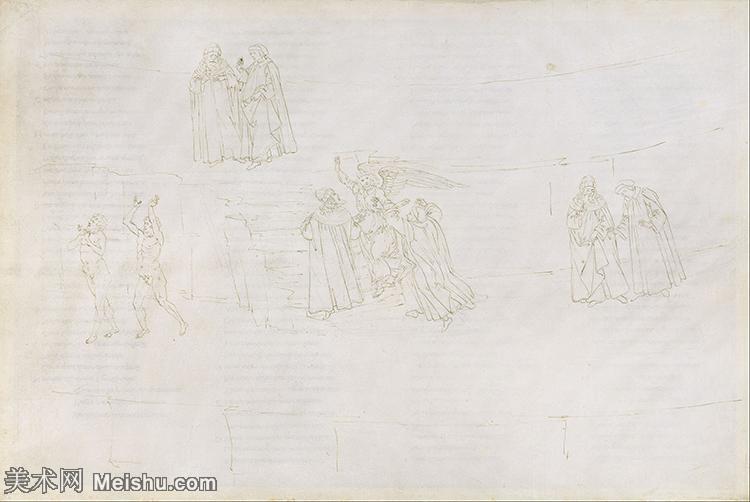 【欣赏级】YHR181317007-15世纪末佛罗伦萨的著名画家桑德罗波提切利Sandro Botticelli西方绘画
