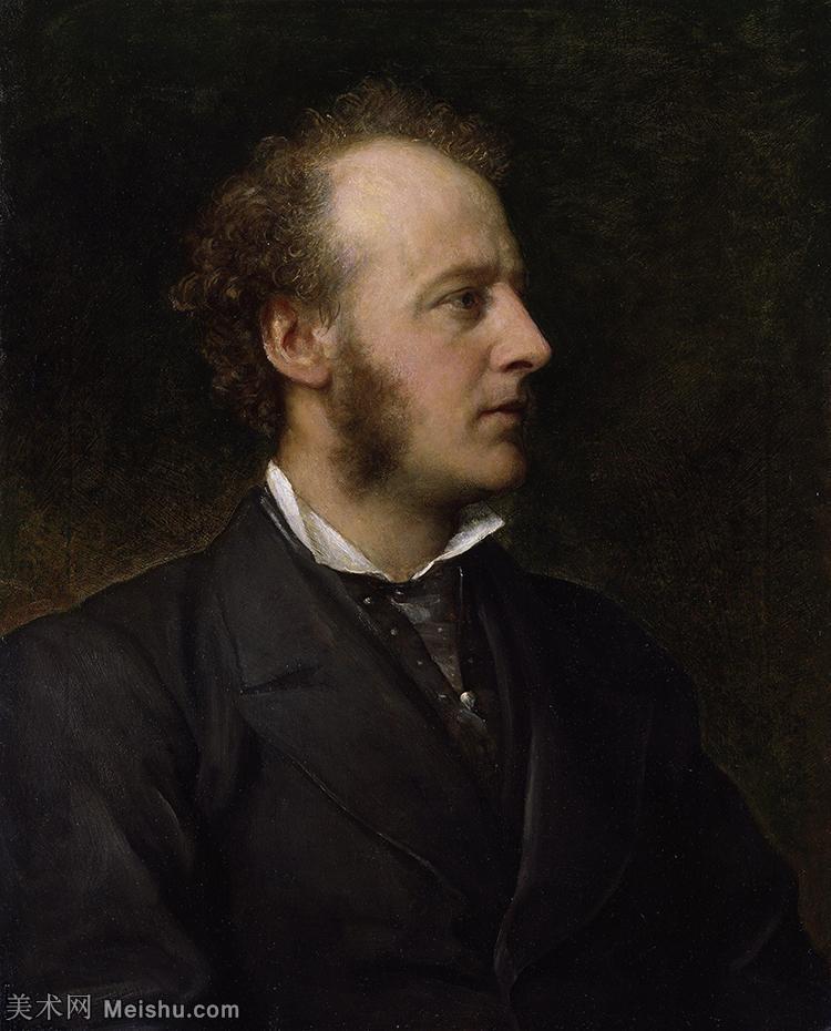 【欣赏级】YHR18142825-十九世纪英国画家约翰埃弗里特米莱斯John Everett Millais拉斐尔前派画