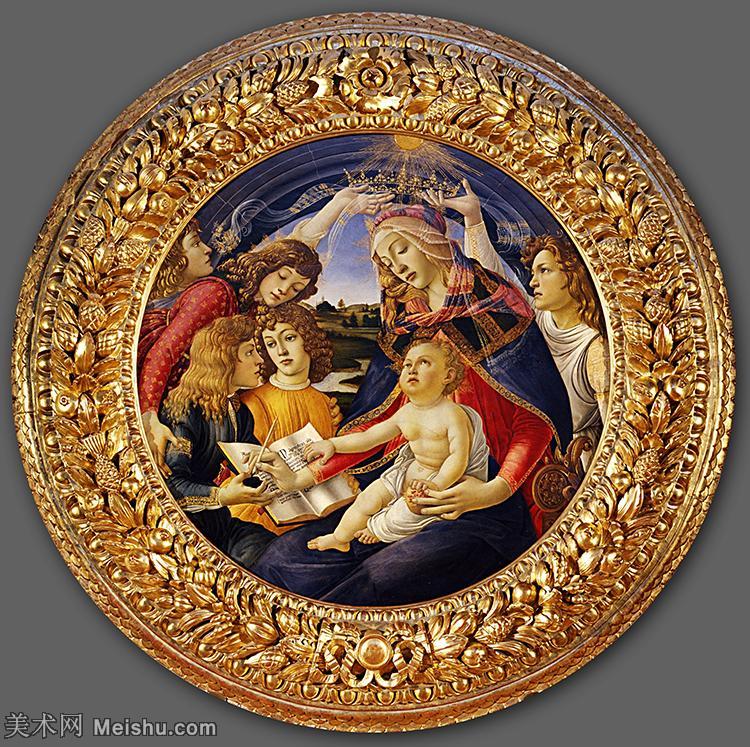 【打印级】YHR181317027-15世纪末佛罗伦萨的著名画家桑德罗波提切利Sandro Botticelli西方绘画