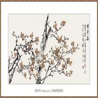 寒香图    68X136-海阳美协主席赵杰水墨作品