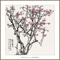 铁骨寒香220X180-海阳美协主席赵杰水墨作品