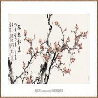 梅报新春   68X136-海阳美协主席赵杰水墨作品