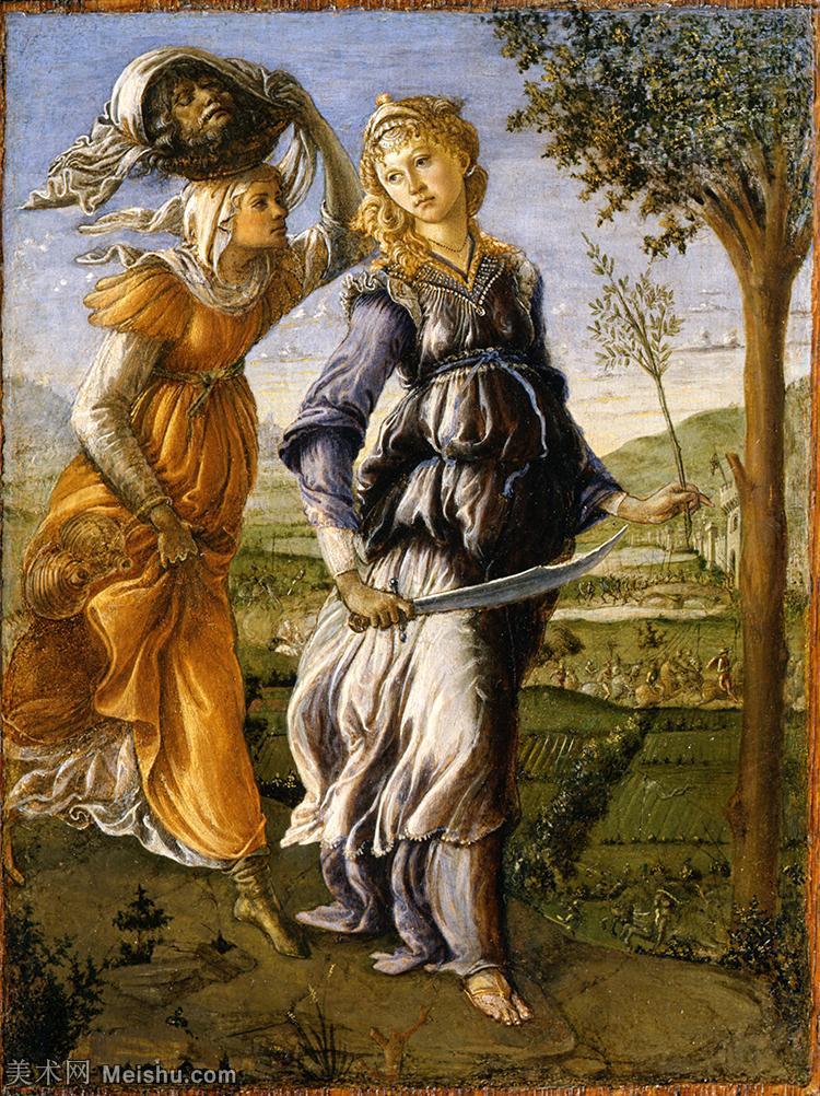 【打印级】YHR181317024-15世纪末佛罗伦萨的著名画家桑德罗波提切利Sandro Botticelli西方绘画