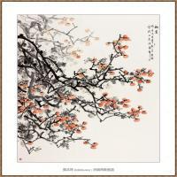 秋实220X180-海阳美协主席赵杰水墨作品