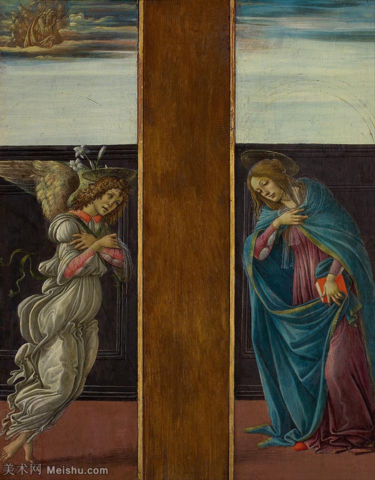 【打印级】YHR181317047-15世纪末佛罗伦萨的著名画家桑德罗波提切利Sandro Botticelli西方绘画