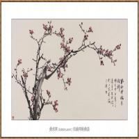 风动寒梅见精神68X136-海阳美协主席赵杰水墨作品
