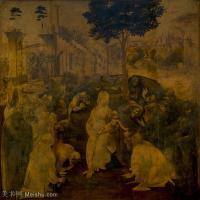 【打印级】YHR131403049-世界著名绘画大师达芬奇DaVinci油画作品高清大图蒙娜丽莎达芬奇世界著名油画作品高清图片-40M-3856X3656