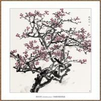 红梅220X180-海阳美协主席赵杰水墨作品