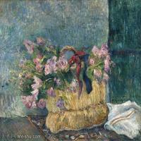 【打印级】YHR191053082-保罗高更Paul Gauguin法国后印象派画家西方绘画大师绘画作品集印象派油画高清图片-36M-4054X3179