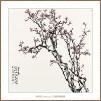 寒香图200x200-海阳美协主席赵杰水墨作品