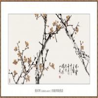 风骨图  68X136-海阳美协主席赵杰水墨作品