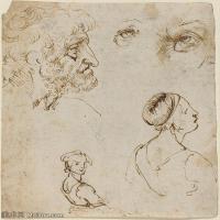 【打印级】YHR131403071-世界著名绘画大师达芬奇DaVinci油画作品高清大图蒙娜丽莎达芬奇世界著名油画作品高清图片-32M-3118X3691