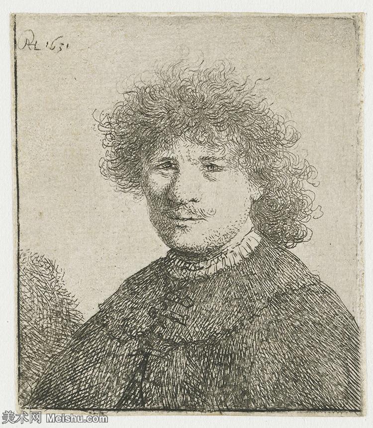 【打印级】SMR131517055-伦勃朗Rembrand素描线稿原作作品高清大图伦勃朗自画像伦勃朗的速写手稿作品伦勃朗