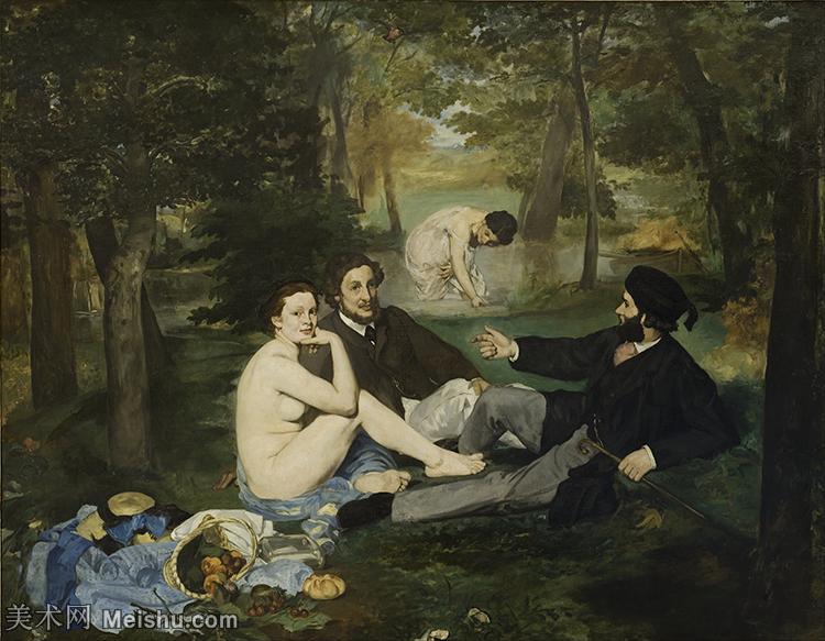 【印刷级】YHR191007111-爱德华马奈édouard Manet法国画家印象派绘画作品集油画高清图片-70M-5