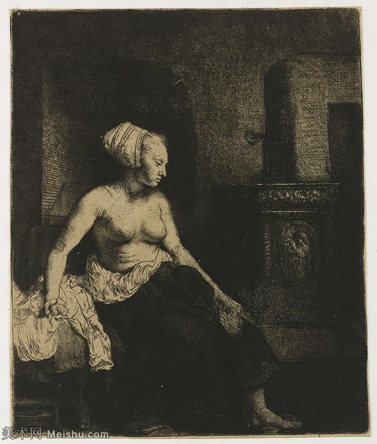 【打印级】SMR131517079-伦勃朗Rembrand素描线稿原作作品高清大图伦勃朗自画像伦勃朗的速写手稿作品伦勃朗
