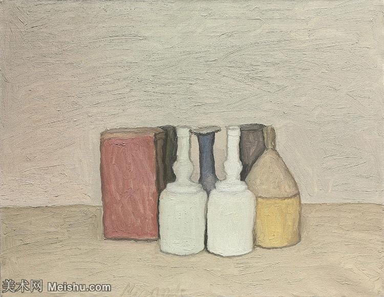 【欣赏级】YHR19080029-乔治莫兰迪Giorgio Morandi意大利著名的版画家油画家绘画作品集莫兰迪油画作