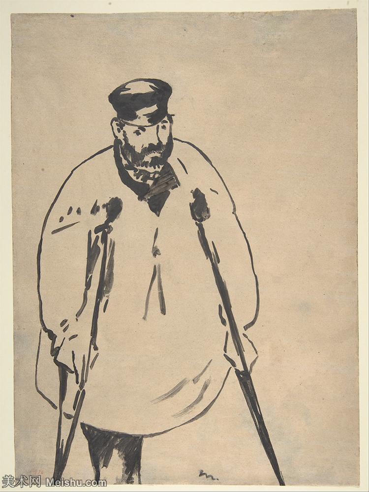 【打印级】YHR191007070-爱德华马奈édouard Manet法国画家印象派绘画作品集油画高清图片-31M-2